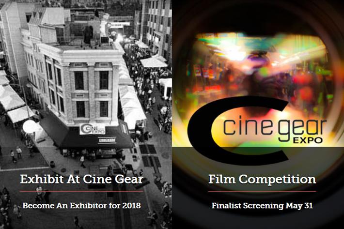 Cine Gear Expo 2018: free registration open