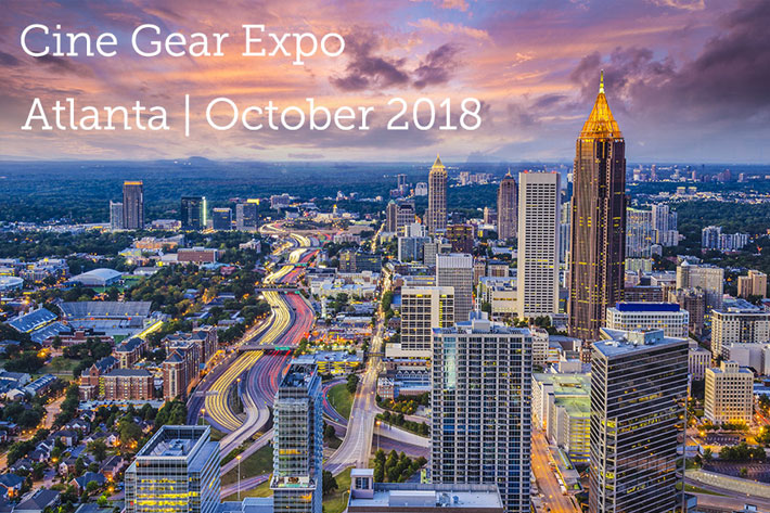 Cine Gear Expo goes East, to Pinewood Studios in Atlanta