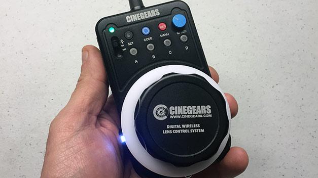 cinegears controller