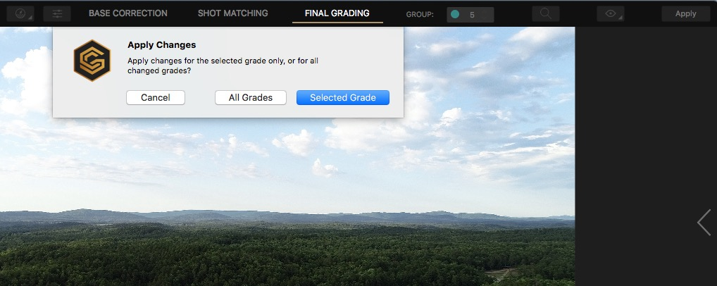 Cinema Grade - a new way to color grade footage inside of your NLE 58