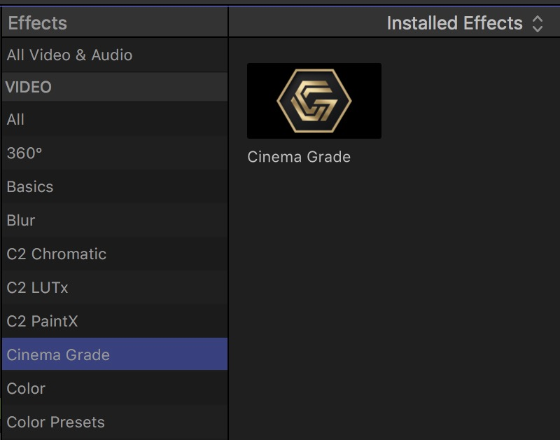 Cinema Grade - a new way to color grade footage inside of your NLE 41