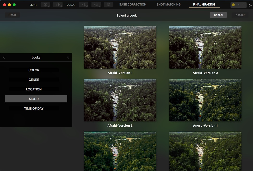 Cinema Grade - a new way to color grade footage inside of your NLE