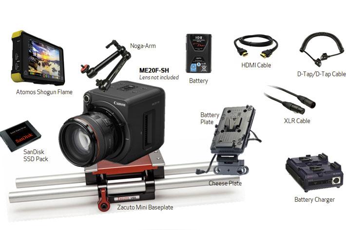 Canon ME20F-SH Cinema Kit