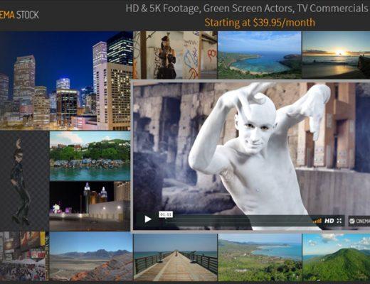 CinemaStock, a new stock footage agency