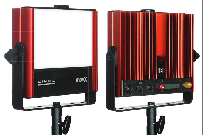 Cineo Lighting debuts MavX at NAB 2017