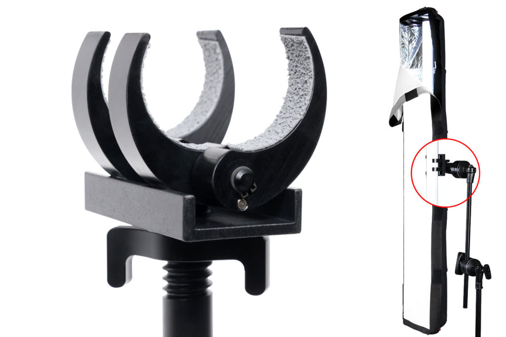 Matthews Claw and VeeBoxx Soft Box for Astera Titan tubes