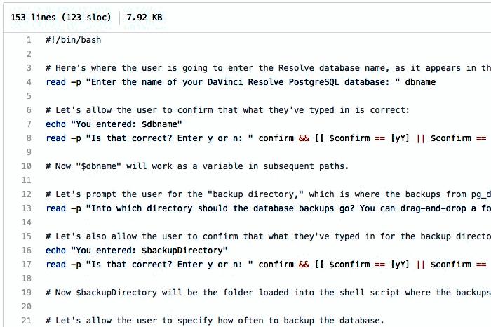 davinci-resolve-postgresql-workflow-tools screenshot
