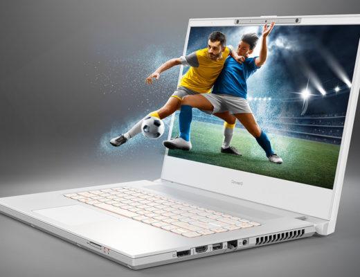 Acer ConceptD 7 SpatialLabs laptop for 3D creators