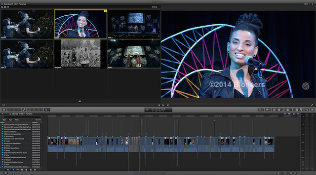 Editing the Bioneers 25th Anniversary Conference 33