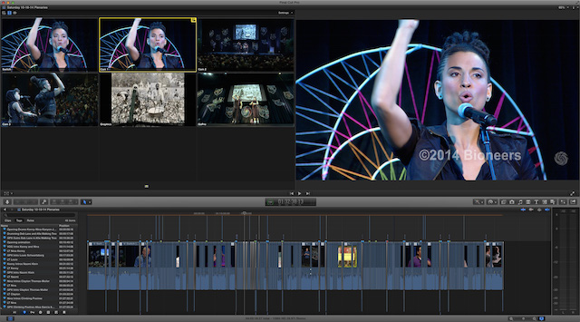 Editing the Bioneers 25th Anniversary Conference 46