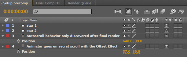 After Effects Tips 5: Going for a Scroll 23