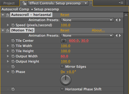 After Effects Tips 5: Going for a Scroll 30