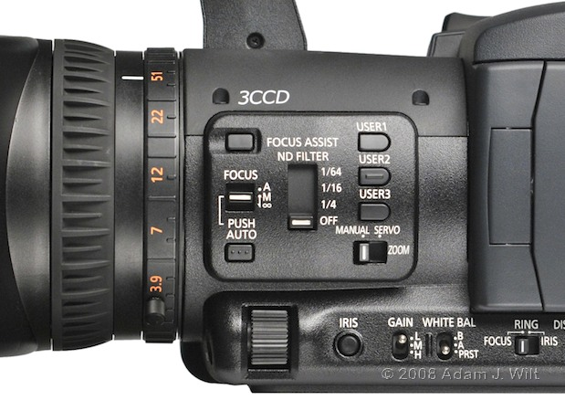 """Review: Panasonic AG-HPX170P 1/3"""", 3CCD P2 Camcorder 59"""