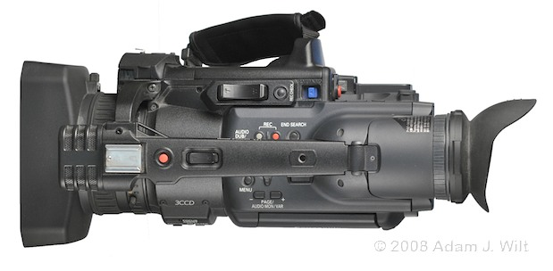 """Review: Panasonic AG-HPX170P 1/3"""", 3CCD P2 Camcorder 58"""