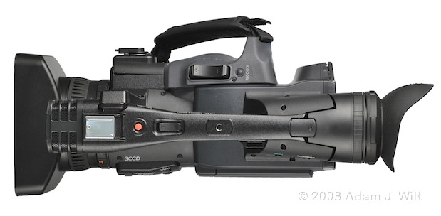 """Review: Panasonic AG-HPX170P 1/3"""", 3CCD P2 Camcorder 57"""