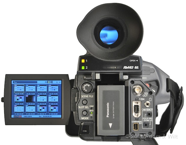 """Review: Panasonic AG-HPX170P 1/3"""", 3CCD P2 Camcorder 61"""