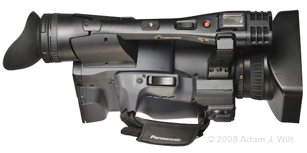 """Review: Panasonic AG-HPX170P 1/3"""", 3CCD P2 Camcorder 62"""
