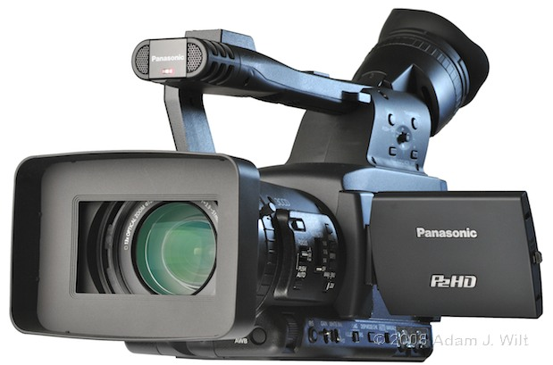 """Review: Panasonic AG-HPX170P 1/3"""", 3CCD P2 Camcorder 54"""