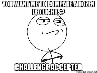 LED Light Tests: PRG Sponsors an LED Light Shootout 31