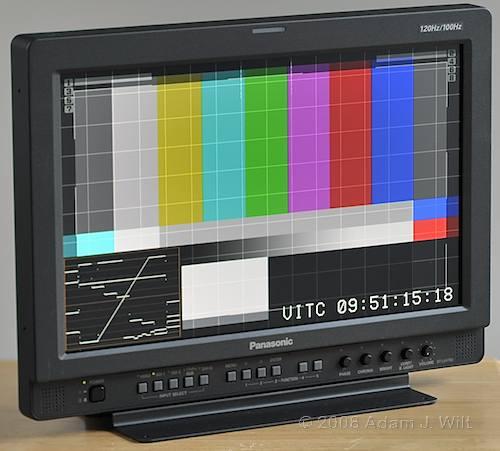 "Review: Panasonic BT-LH1760 17"" LCD Monitor 31"