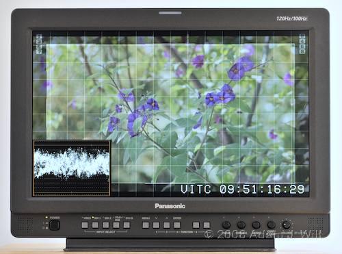 "Review: Panasonic BT-LH1760 17"" LCD Monitor 30"