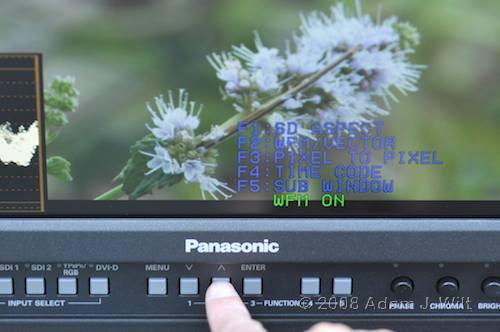 "Review: Panasonic BT-LH1760 17"" LCD Monitor 36"