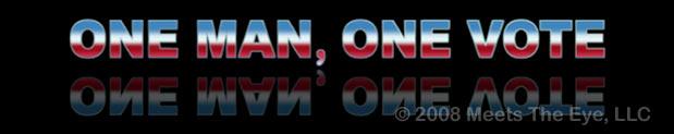 One Man, One Vote 4