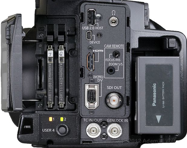 """Review: Panasonic AG-AC160 and AG-HPX250 1/3"""" 3-MOS camcorders 120"""