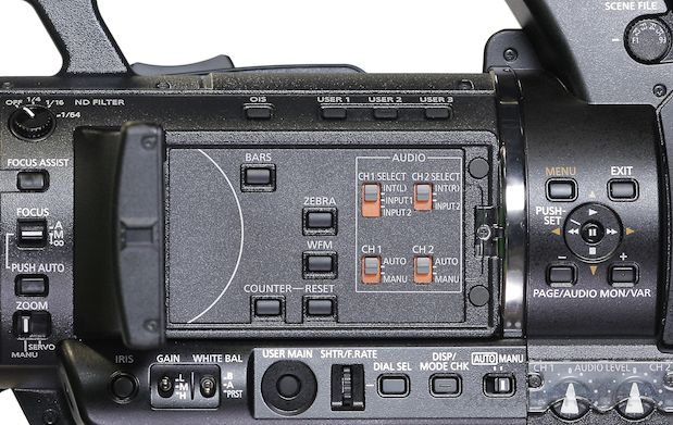 """Review: Panasonic AG-AC160 and AG-HPX250 1/3"""" 3-MOS camcorders 111"""
