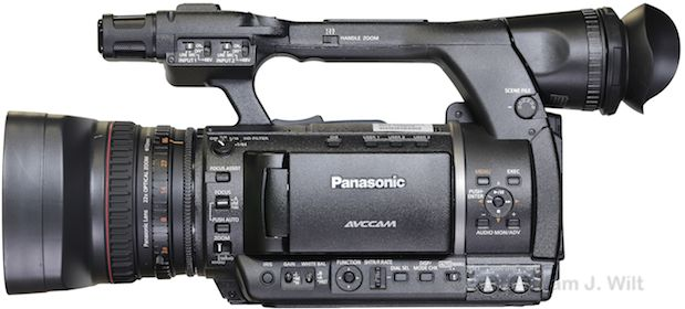 "Review: Panasonic AG-AC160 and AG-HPX250 1/3"" 3-MOS camcorders 107"