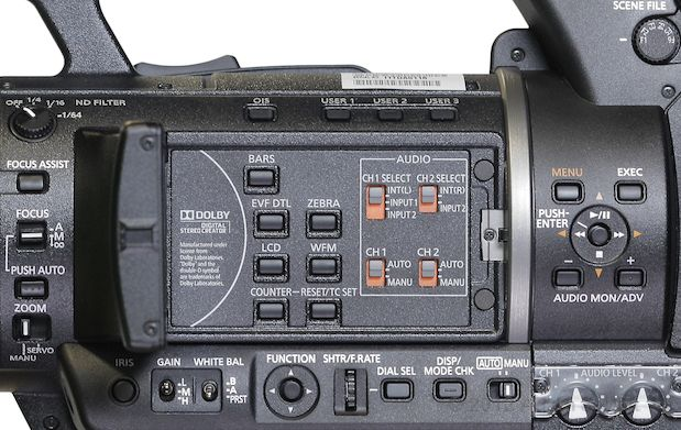 "Review: Panasonic AG-AC160 and AG-HPX250 1/3"" 3-MOS camcorders 112"