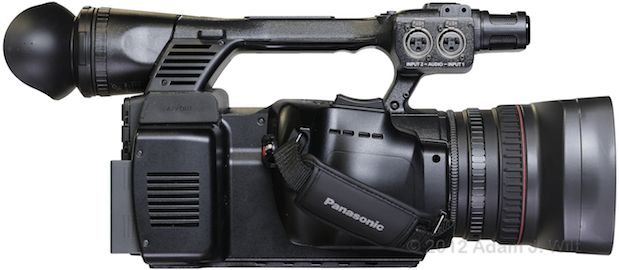 "Review: Panasonic AG-AC160 and AG-HPX250 1/3"" 3-MOS camcorders 115"