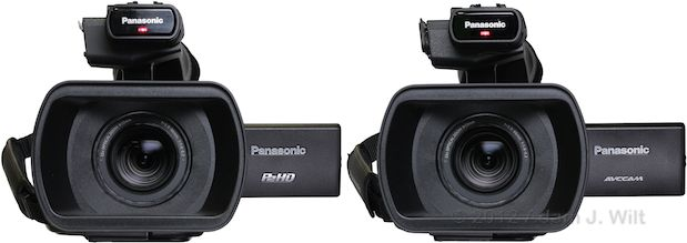 Review: Panasonic AG-AC160 and AG-HPX250 1/3