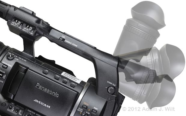 "Review: Panasonic AG-AC160 and AG-HPX250 1/3"" 3-MOS camcorders 114"