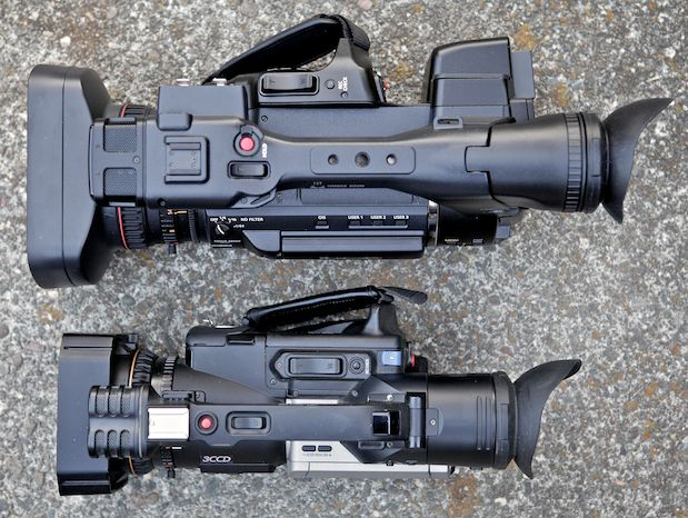 """Review: Panasonic AG-AC160 and AG-HPX250 1/3"""" 3-MOS camcorders 154"""
