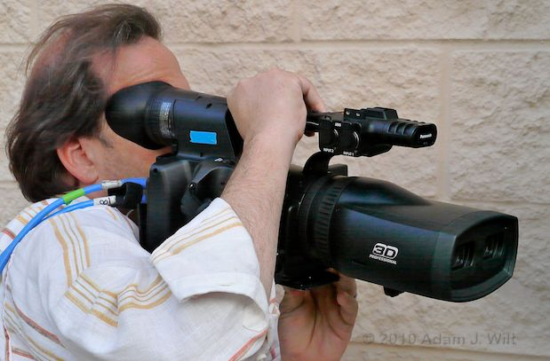 Hands-on with the Panasonic AG-3DA1 S3D Camcorder 39