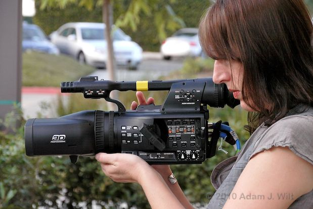 Hands-on with the Panasonic AG-3DA1 S3D Camcorder 40