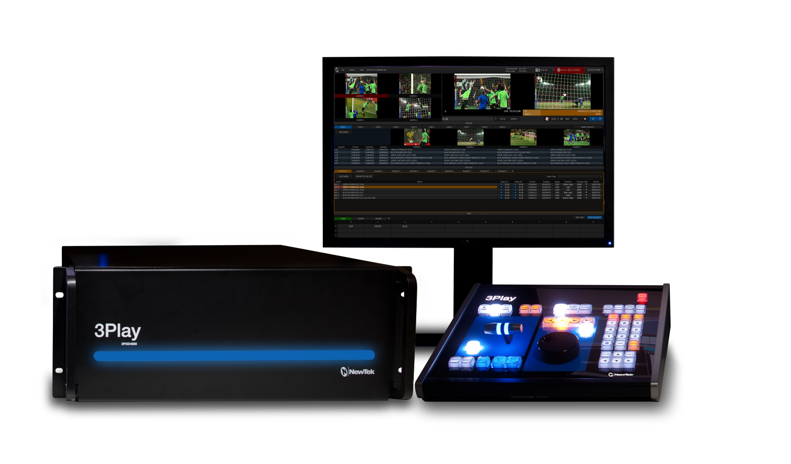 NewTek Unveils 3Play 4800 4
