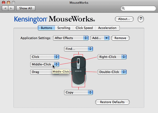 Kensington Mice and After Effects CS4 22