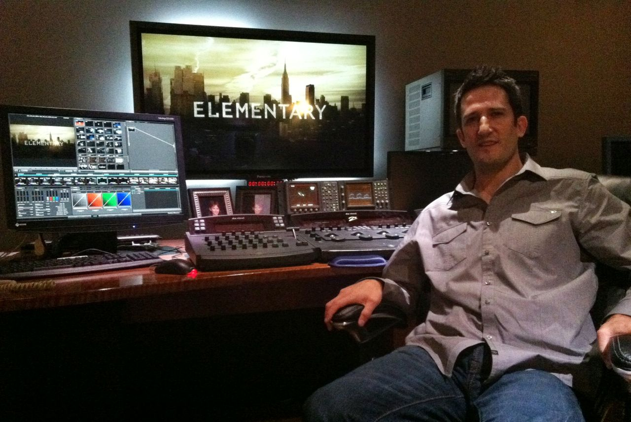 DaVinci Resolve 'Elementary' in Color Grading Hit CBS Crime Solving Television Show 4