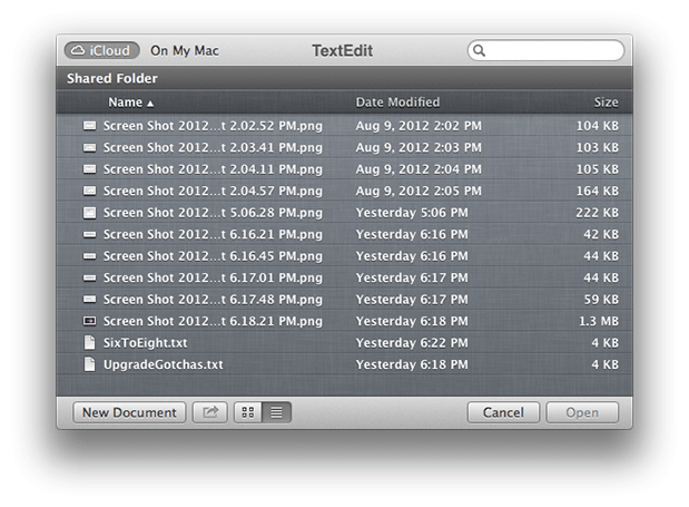 An[other] OS X 10.6 to 10.8 Survival Guide for Editors 75