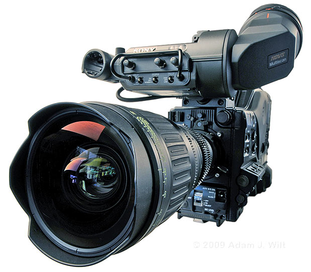 Review: Sony HDW-650F HDCAM Camcorder 61