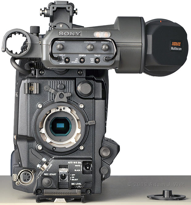 Review: Sony HDW-650F HDCAM Camcorder 50