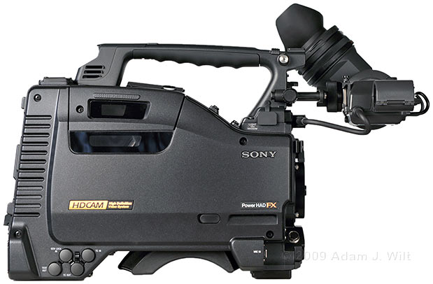 Review: Sony HDW-650F HDCAM Camcorder 49