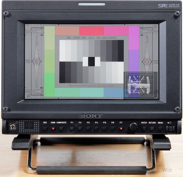 Quick Look: Sony PVM-740 OLED Display 42