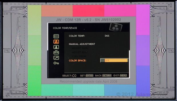 Quick Look: Sony PVM-740 OLED Display 47