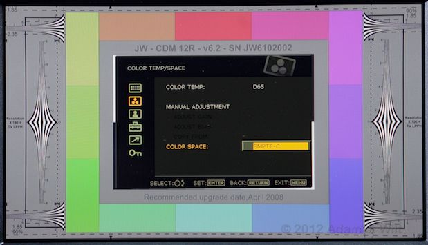 Quick Look: Sony PVM-740 OLED Display 48