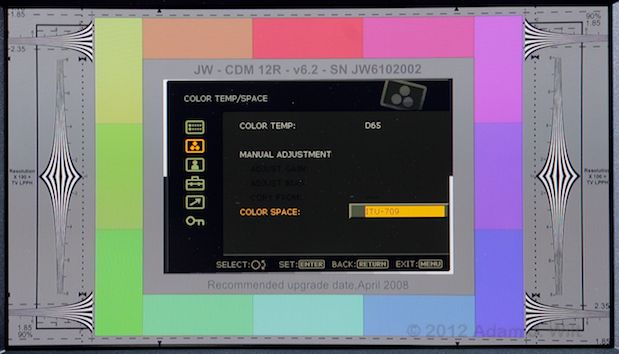 Quick Look: Sony PVM-740 OLED Display 50