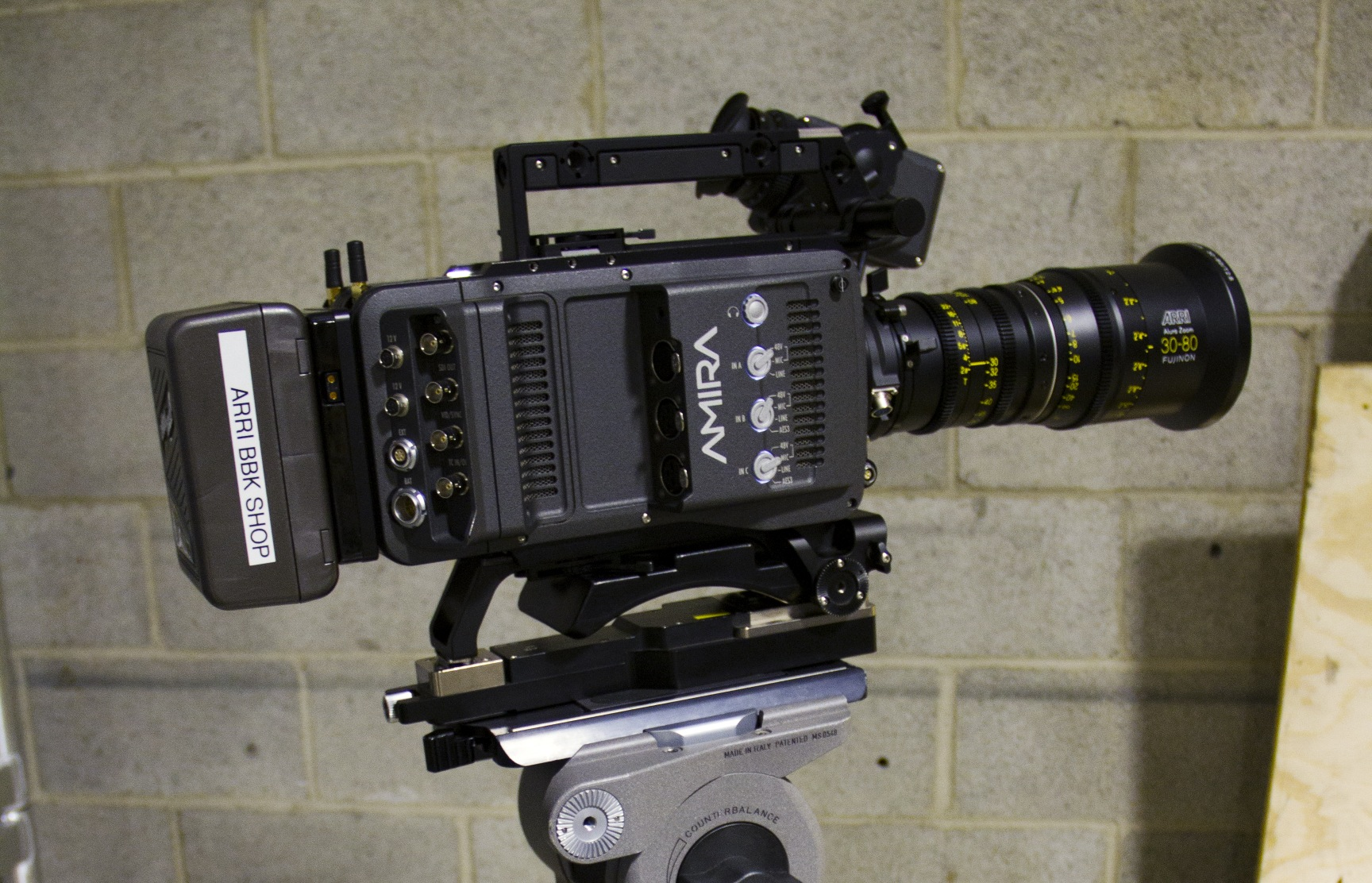 A Hands-on Experience with the ARRI AMIRA 9