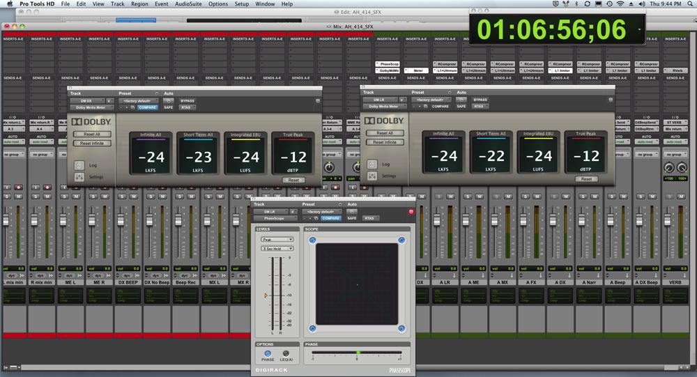 Dolby Media Meter